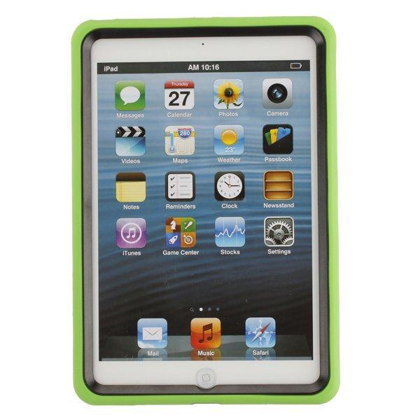 Hard Soft Hybrid Kickstand Stand Silicone Case Cover For iPad Mini