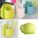 Kangaroo PocketToothbrush Holder Wall Sucker Bathroom Organizer