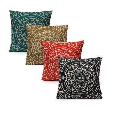 Nordic style Decorative Pillow Case Linen Cotton Cushion Cover