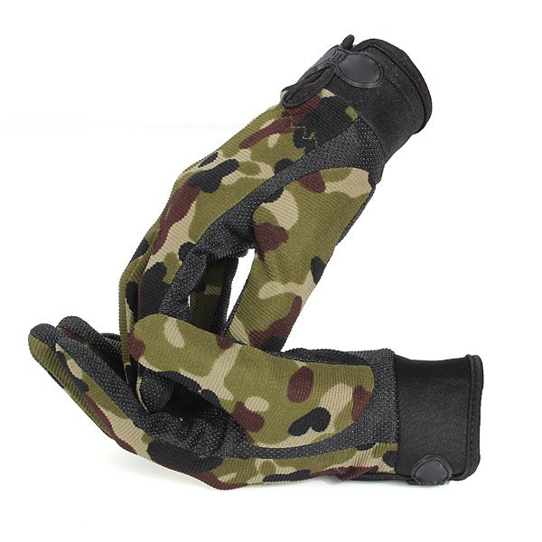 Outdoor Sports Full Finger Military Tactical Multifunction Gloves