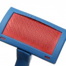 Pet Dog Cat Hair Flea Shedding Pin Brush Slicker Comb Tool Blue