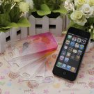 3D Rain Drop Design Hard Case Cover Protector For Apple iPhone 5 5G