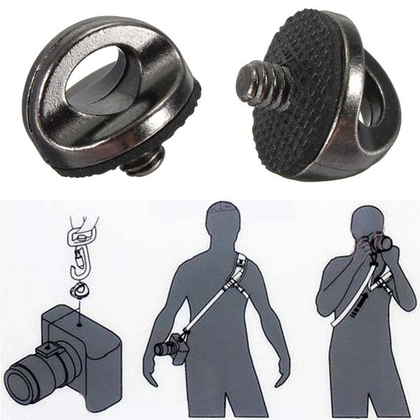 1/4 Inch Screw Adapter Connecting For Camera Shoulder Sling Strap