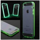 Ultra Slim TPU+PC Luminous Glow Bumper Hard Clear Case For iPhone 6
