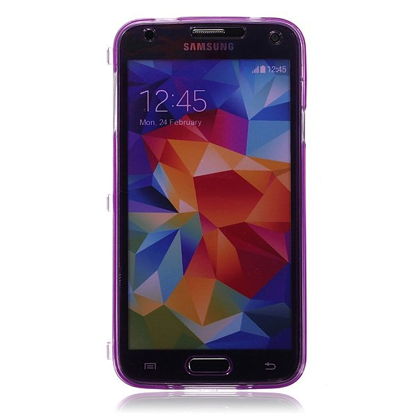 Ultra Thin Slim Crystal Transparent Case for Samsung Galaxy S5 i9600
