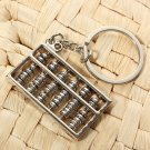 3D Mini Simulation Abacus Model Keyring Metal Key Chain Gift