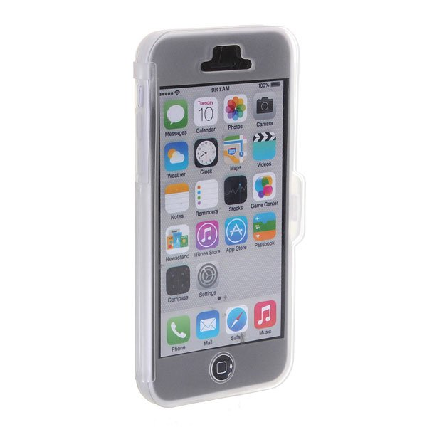 Concise Design Transparent TPU Protective Case Cover For iPhoen 5C