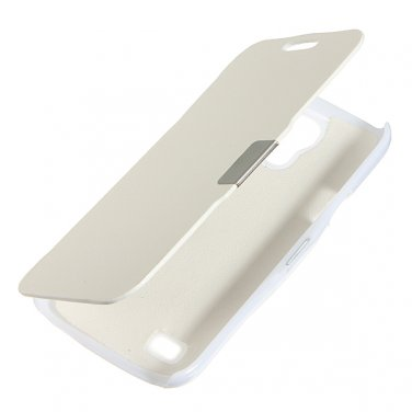 Magnetic Edge Flip PU Leather Case For Samsung Galaxy S4 Mini I9190