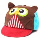 Baby Kids Toddler Infant Boy Girl 3D Owl Hat Baseball Cotton Caps