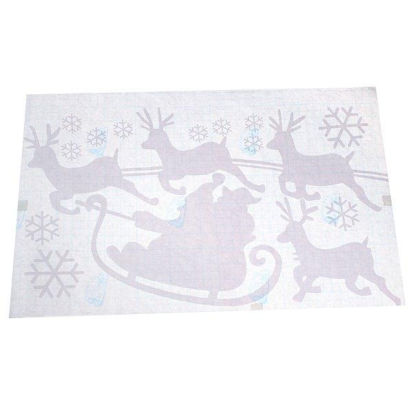 Christmas Santa Snowflakes Reindeer Window Sticker Decoration