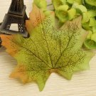 50pcs Artificial Maple Leaves Home Decoration