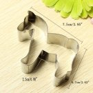 Horse Shape Cookie Cutter Cake Biscuit Pastry Mold Tools