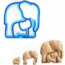 Elephant Shape Bread Sandwitch Cutter Mold Biscuit Toast Mould Maker