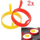 Kitchen Silicone Fried Egg Device Round Ring Mould Modelling