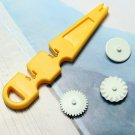 Embosser Wheel Fondant Cake Decorating Cutter Ribbon Mould Tool