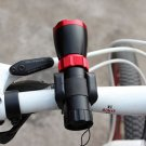 Bike Bicycle Front Light Clip Flashlight LED Torch Holder Base Mount