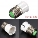 E27 to B22 Base Screw LED Lamp Bulb Holder Adapter Socket Converter