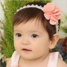 Baby Girl Elastic Hairband Floral Dot Flower Hair Accessories