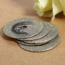 5pcs 20mm Diamond Cutting Discs Jewelry Tools With One 2mm Mandrel