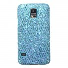 Glitter Veneer Plastic Hard Case For Samsung Galaxy S5 I9600