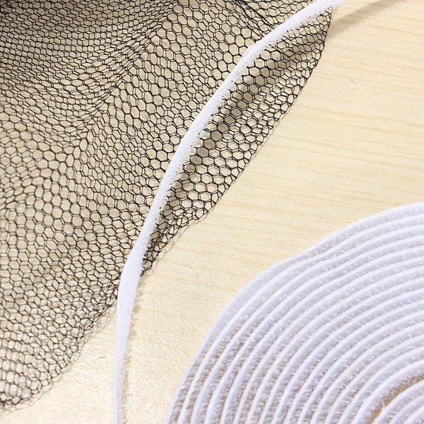 Black Anti Mosquito Pest Window Net Mesh Screen Curtain Protector