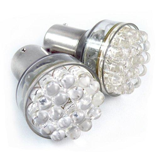 24 LED CAR TAIL BRAKE REAR WHITE LIGHT BULB LAMP