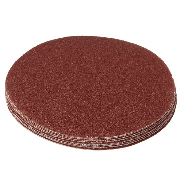 10Pcs 125mm Sanding Discs Sander Sheets Circular Sandpaper