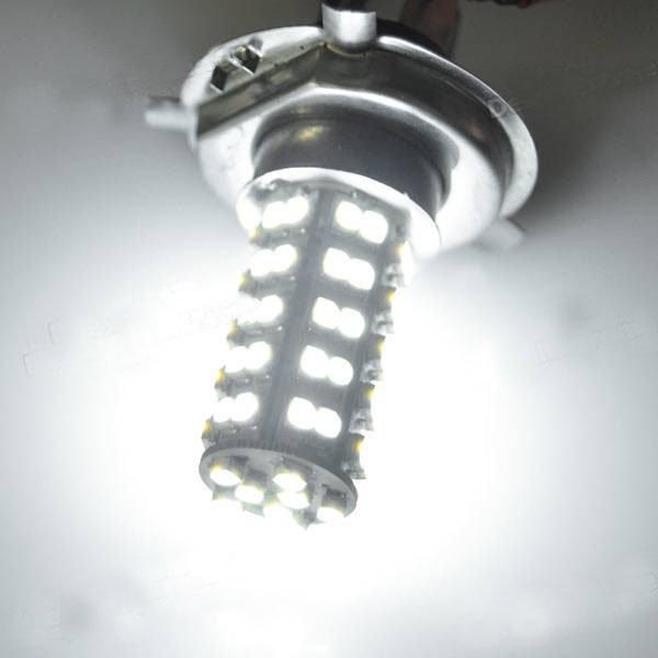 New H4 3.5W 68-SMD LED 6500K 310-Lumen White Fog Lights for Car 1 pcs
