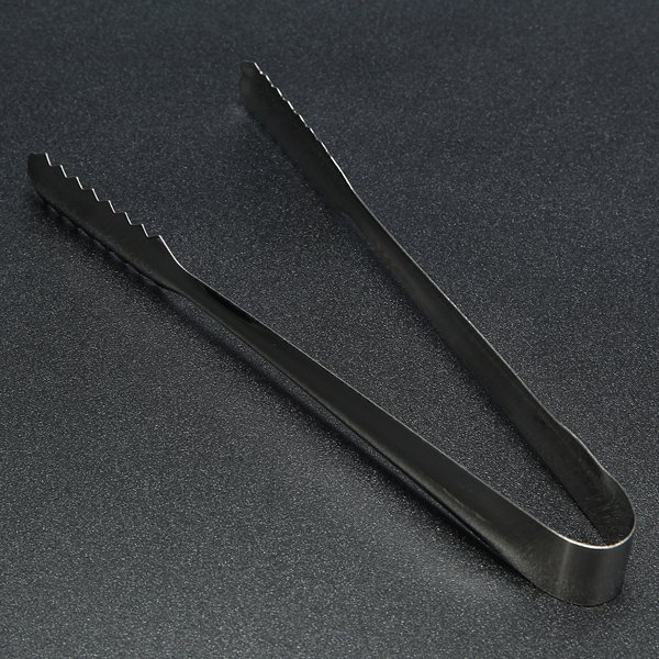 Stainless Steel Tongs Ice Food Salad Catering