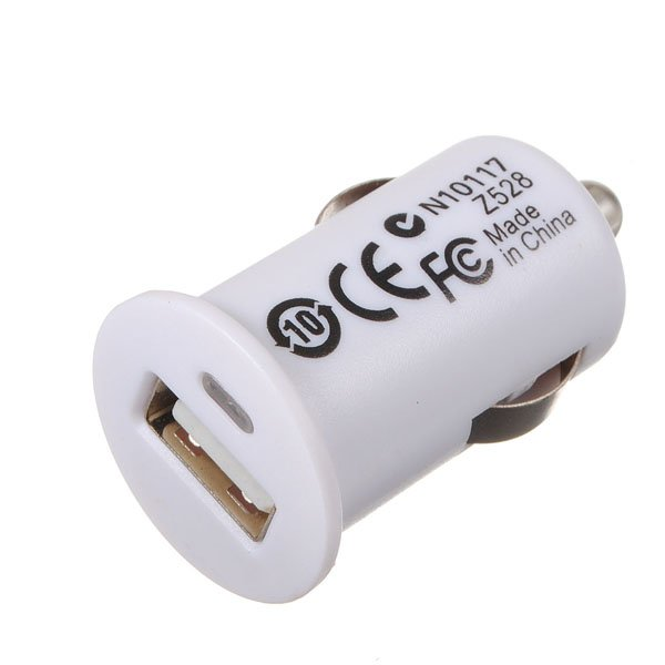Universal Mini USB Car Charger For iPhone 4G 1000mA Mp4