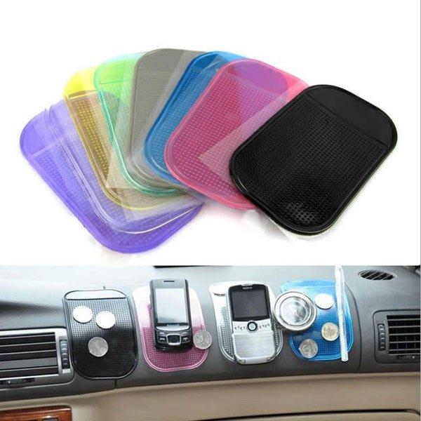 Anti-Slip Car Dashboard Sticky Pad Non-slip Mat Key Holder For iPhone
