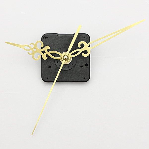 Gold Hands DIY Quartz Wall Clock Spindle Movement Mechanism