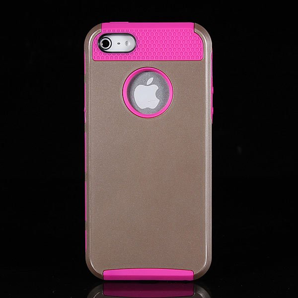 Gold Shockproof Dirt Dust Proof Hard Matte Case For iPhone 5 5s