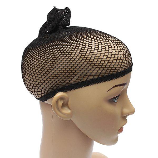Black Hair Wig Weaving Cap Net Mesh Fishnet
