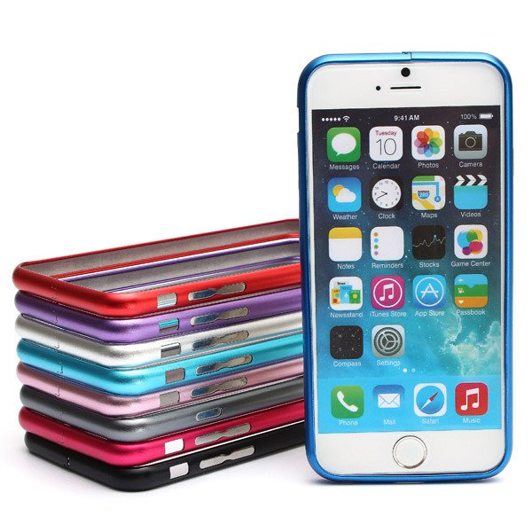 Ultra Thin Slim Aluminum Metal Frame Bumper Case For iPhone 6