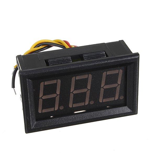DC 0-100V Blue LED Digital Mini Voltmeter Gauge Voltage Panel Meter