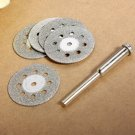 22mm 5pcs Carbon Steel Mini Diamond Cutting Discs Tools