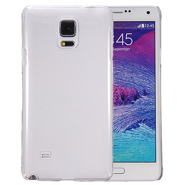 Transparent PC Hard Back Cover Case For Samsung Galaxy Note 4 N9100
