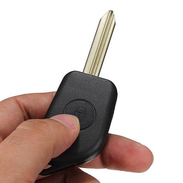 2 Button Remote Key Fob Case Shell for Citroen Saxo Xsara Picasso
