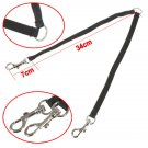 Nylon Two Ways Double Dog Couple Walking Pet Leash