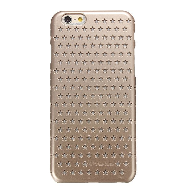 Unique Design Stars Ventilate Pierced Hollow Cover Case For iPhone 6
