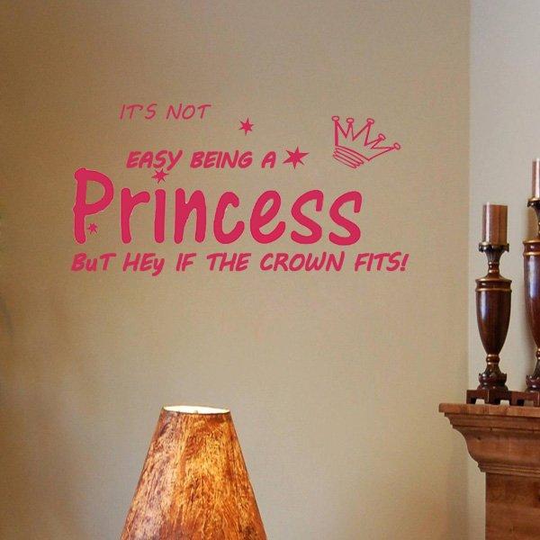 Rose Red 60*28cm English Proverbs PVC Wallpaper Wall Sticker EWQ0019