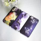 Flowers Matte Translucent Snap On Thin Back Hard Case For iPhone 5