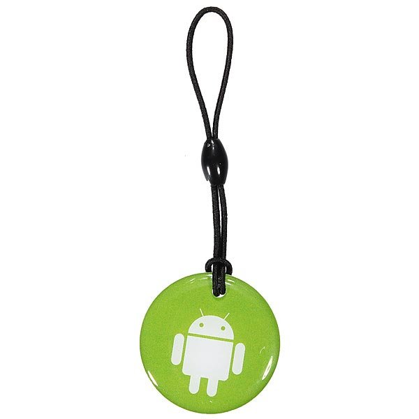 Smart NFC Tag Keyfobs Android label Keychain For Mobile Phones