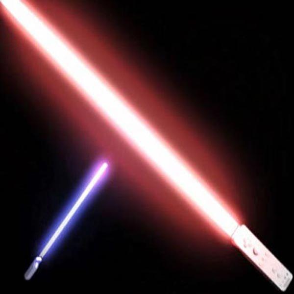 Star Wars Sword Light Saber For Nintendo WII Remote Controller