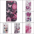 Stylish Flip PU Leather Wallet Card Case For Samsung Galaxy S5 i9600