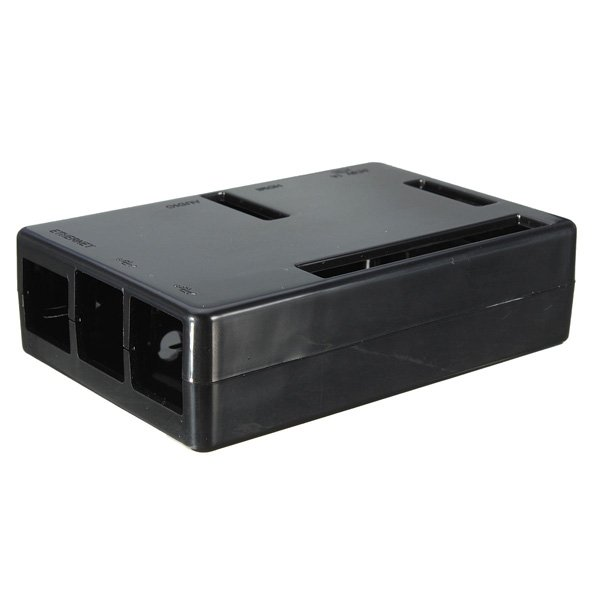 Black ABS Case Box Enclosure For Raspberry Pi B+ (Plus)