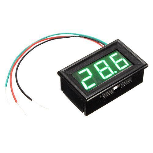 Digital Mini 5-25V LED Car Truck Voltmeter Gauge Voltage Panel Meter