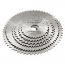 6pcs HSS Circular Saw Blade Cutting Discs Wheel Set For Rotary Tool
