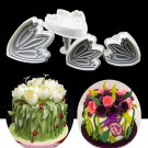 Tulip Cake Decorating Tools Plunger Cutter